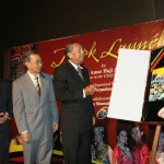 Book Launch - Concept of Anak Sarawak a way to depict state's cultural mosaic and Pehin Sri Abdul Taib's Bold Steps Forward, 29 March 2011