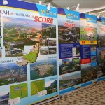 Exhibition on SCORE at Mukah, 2014